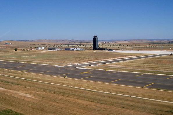 Steht für schlappe 100 Millionen Euro zum Verkauf: Der 200 Hektar gr0ße Flughafen von Ciudad Real.