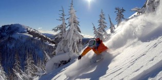 Weiße Pracht in den Rocky Mountains: Mit Vollgas durch den Tiefschnee