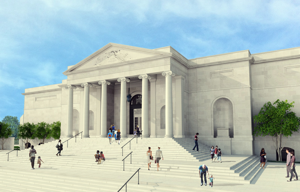 Neu herrgerichtet feiert das Baltimore Museum of Art im Jahre 2014 seinen 100. Geburtstag. (Foto Ziger-Snead)
