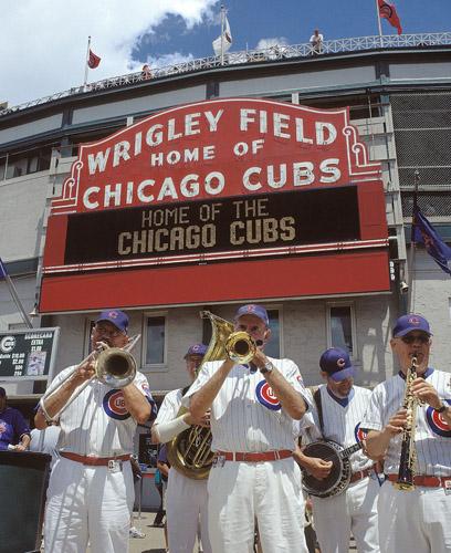 Die Chicago Cubs geben in den Wrigley Fields seit einem Jahrhundert den Ton an. (Foto: Chicago Cubs)