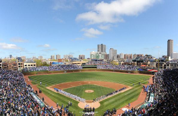 Seit 100 Jahren eine der ersten Adressen im amerikanischen Baseball: Das Wrigley Field. (Foto Chicago Cubs)