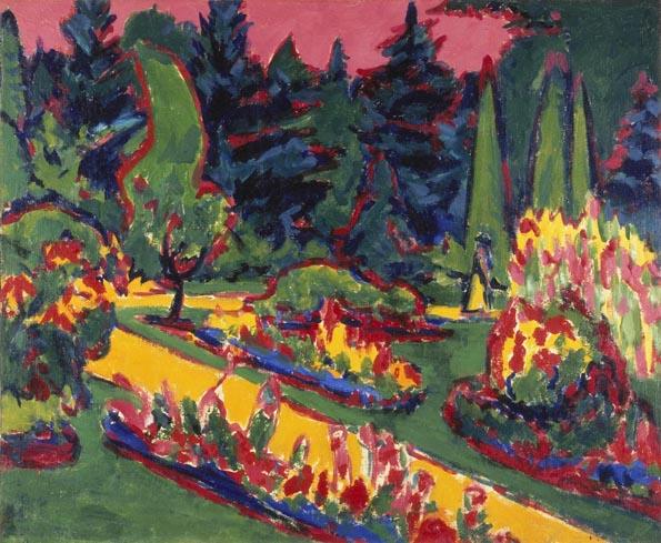 Auch Arbeiten von Ernst Ludwig Kirchner sind 2014 im Rahmen der Sonderausstellung in Baltimore zu bewundern.