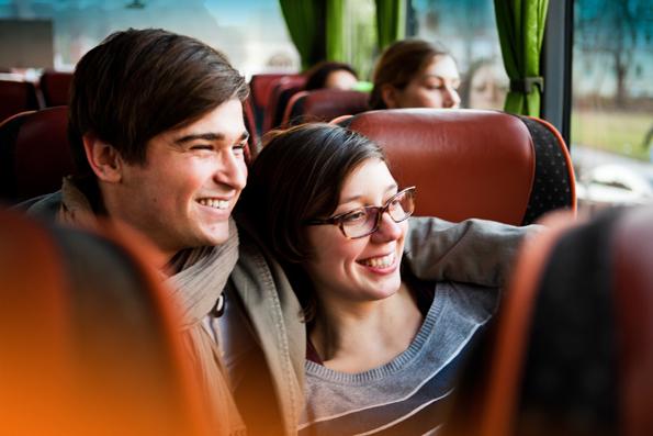 Reisen mit dem Fernbus sind oft deutlich preisgünstiger als ein Flug oder die Reise mit der Bahn. (Foto: Verena Brandt)