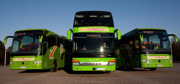 Moderne Busflotten, wie hier bei MeinFernbus, garantieren großen Reisekomfort für die Fahrgäste. (Foto: Verena Brandt)