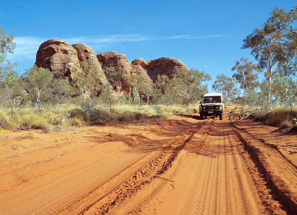 Einer der lanschaftlichen Höhepunkte Westaustraliens: Die Bungle Bungles.