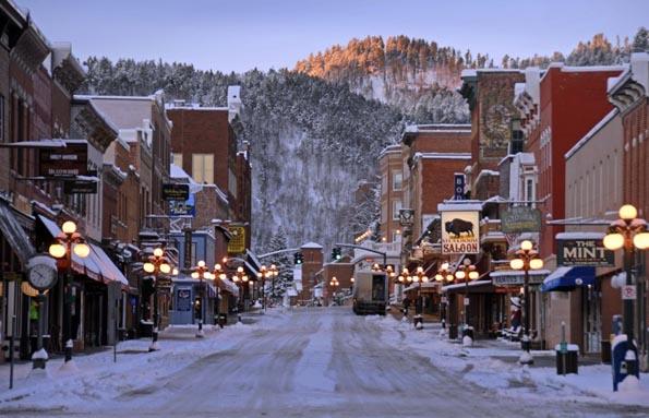 In den Black Hills in South Dakota kommen nicht nur Skifahrer auf ihre Kosten. (Foto: Deadwood)