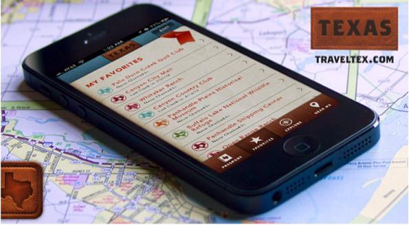 Die Texas-App ermöglicht die Reise schon von zu Hause aus zu planen. (Foto: Texas Tourism)