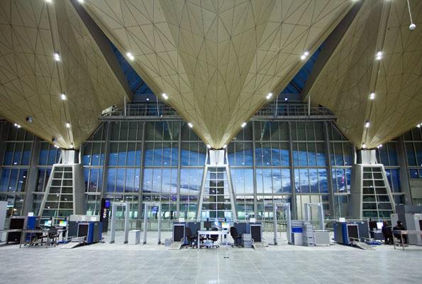Das neue Terminal 1 am Sankt Petersburger Flughafen Pulkovo wurde jetzt in Betrieb genommen. (Foto: Fraport AG)