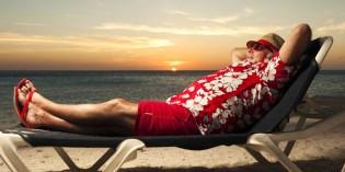 Weihnachtsmann schickt Videobotschaft aus Curaçao: Heiligabend fällt aus!