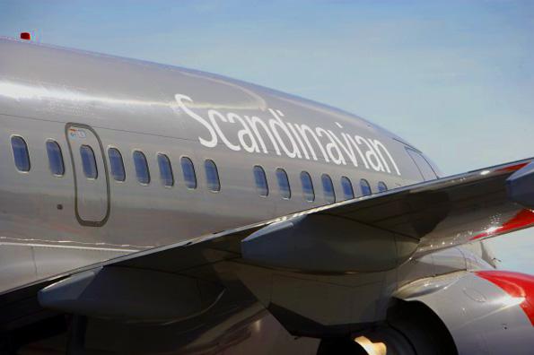 Scandinavian Airlines niett künftig mehr als 40 Flüge von Hamburg nach Skandinavien an. (Foto SAS)