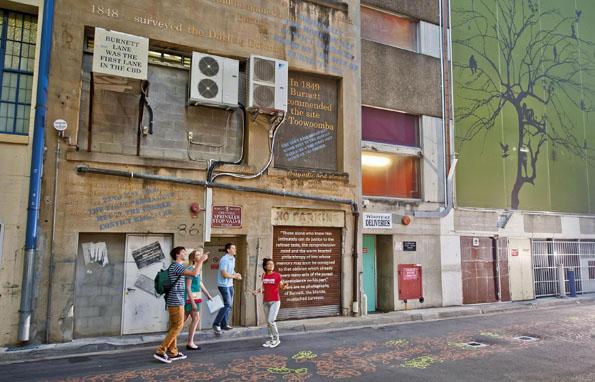 Auf gleich vier neu konzipierten Wege lässt die Schönheit von Brisbane alleine oder zusammen mit einem Greeter erkunden.