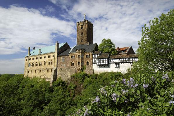 Das heutige Erscheinungsbild der 1067 gegründeten Wartburg geht auf den Großherzog Carl Alexander von Sachsen-Weimar-Eisenach zurück. (Foto: A. Nestler)