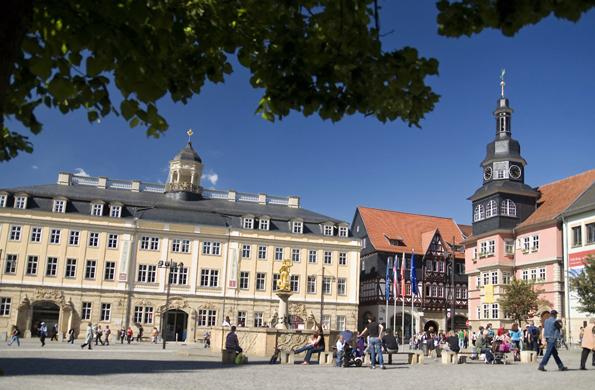 """Die Wartburg gehört seit 1999 zum Unesco-Weltkulturerbe - Eisenach trägt stolz den Namen """"Wartburgstadt"""". (Foto: A.-L. Thamm)"""