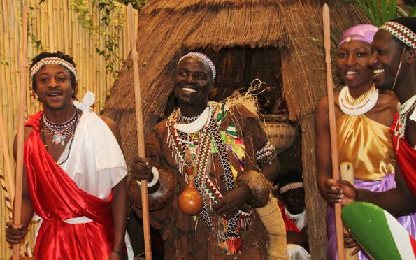 Tradition wird in Burundi großgeschrieben - dazu gehören auch viele Tänze. (Foto Karsten-Thilo Raab)