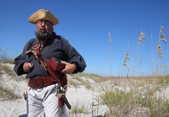 Pirate tour at Wrightsville Beach.