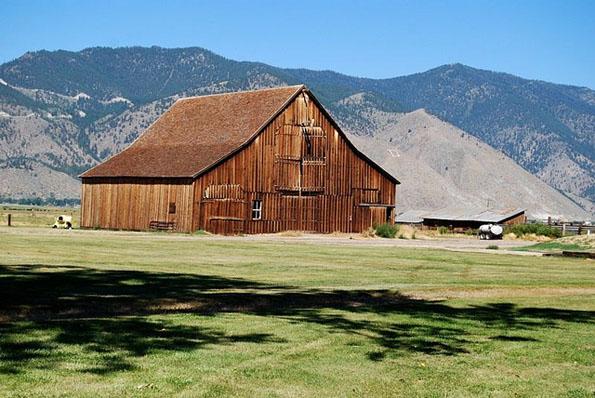 Eine Relikt aus der Zeit des Wilden Westens ist der Dangberg Home Ranch Historic Park.