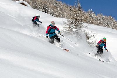 """Beim """"La Skieda"""" wird norwegische Technik auf Italiens Skipisten getestet. (Foto: Fabio Borga)"""