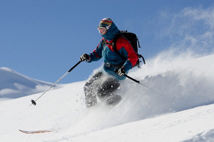 In Livigno steht wieder sieben Tage lang das Telemarken im Fokus. (Foto: Fabio Borga)