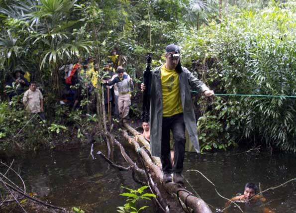Auf einer Länge von 50 Kilometern führt der MayaTrek durch den Regenwald in Guatemala.