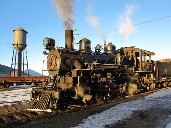 Ein Stück erhaltene Eisenbahnnostalgie: Die Nevada Northern Railway.