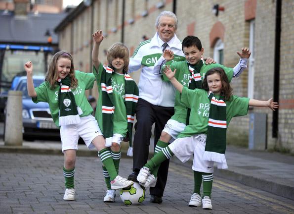 Überall sind am St. Patrick's Day die irischen Nationalfarben allgegenwärtig.