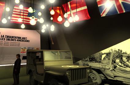 Das Bastogne War Museum widmet sich der Geschichte des Zweiten Weltkriegs.