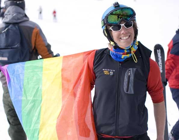 "Bereits zum vierten Mal ist Hemsedal Gastgeber des Ski Pride Festivals ""Skeive ski"". (Foto Innovation Norway)"