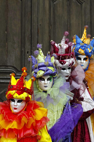 Die Krone des närrischen Treibens in Lothringen: Der Karneval in Remiremont. (Foto: Udo Haafke)