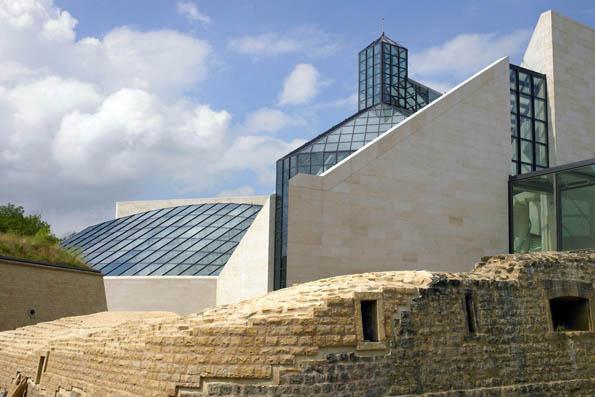 Mit dem Museum für zeitgenössische Kunst (Mudam) schuf der chinesisch-amerikanische Architekt Ieoh Ming Pei eine Brücke zwischen gestern und heute. (Foto: LCTO)
