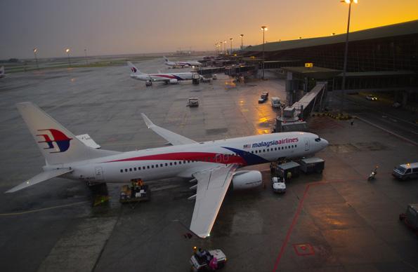 Heimatflughafen und wichtigstes Drehkreuz für Malaysia Airlines: der Flughafen in Kuala Lumpur.