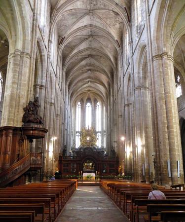 Kirchlicher Prachtbau: Die Basilika Saint-Maximin-la-Sainte-Baume. (Foto Tink Denis)