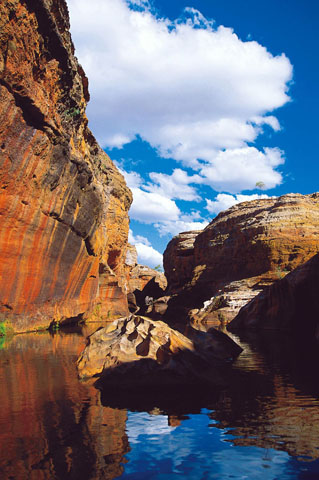 Eine Art Mini-Gran-Canyon in Queensland: Die Cobbold Gorge.
