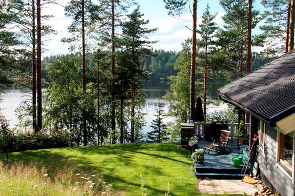 Ein Haus am See ist beim Finnland-Urlaub fast schon ein Muss. (Foto: Vesa Karkkainen)