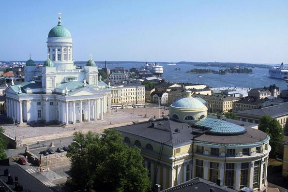 Ein Abstecher in die Hauptstadt Helsinki sollte auf keiner Finnland-Rundfahrt fehlen.  (Foto: Visit Finland)