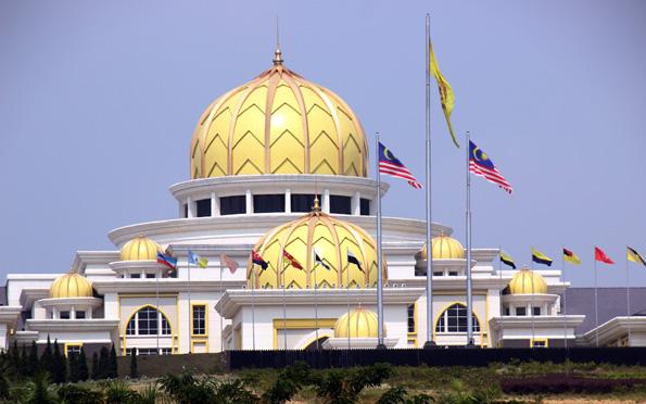 Stolz der Nation: Der Königspalast in Kuala Lumpur. (Foto: Karsten-Thilo Raab)