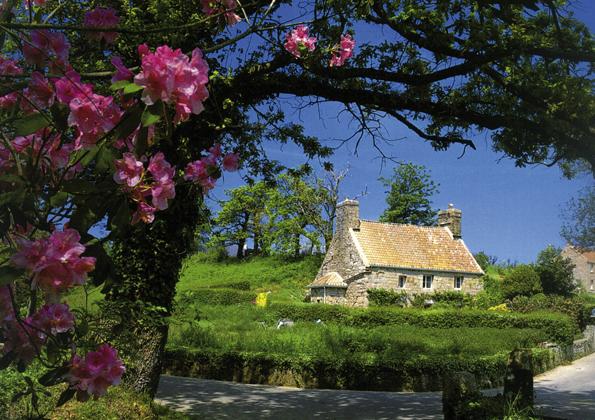 Überall auf Jersey finden sich romantische Kleinode wie das Le Rât Cottage.