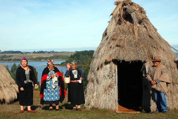 Die Mapuche in Chile feiern Neujahr zur Wintersonnenwende auf der Südhalbkugel.