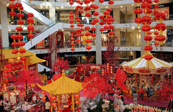 Shopping-Tempel der Superlative: Das Pavilion in Kuala Lumpur. (Foto: Karsten-Thilo Raab)