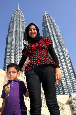 Weithin sichtbares Wahrzeichen von KL: Die Petronas Twi Towers. (Foto: Karsten-Thilo Raab)