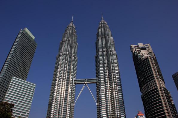 Waren bei ihrer Fertigstellung das höchste Gebäude der Welt: Die Petronas Twin Towers. (Foto: Karsten-Thilo Raab)