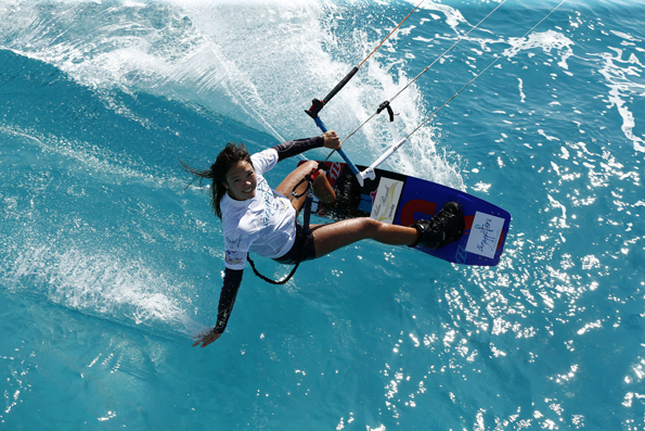 Spitzensport hautnahe verspricht der Red Sea Kitesurf World Cup in Ägypten. (Foto Jürgen Tap)