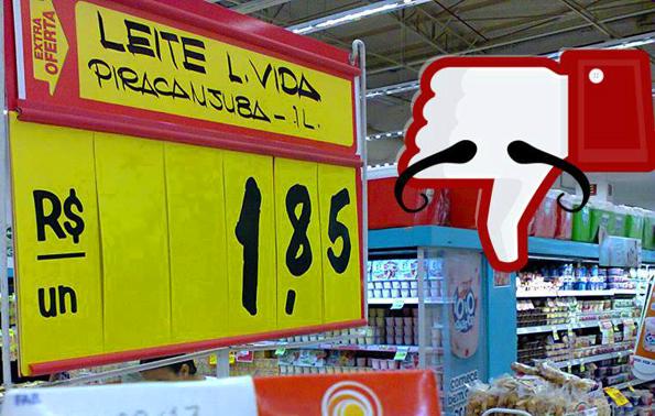 Eindeutig tun die Brasilianer ihre Meinung zu den jüngsten Preiserhöhungen auf Portalen wie www.facebook.com/pages/Rio-Surreal kund.