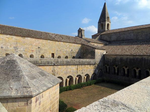 Die Abtei Le Thoronet hielt Le Corbusier in Bann. (Foto: Tink Denis)