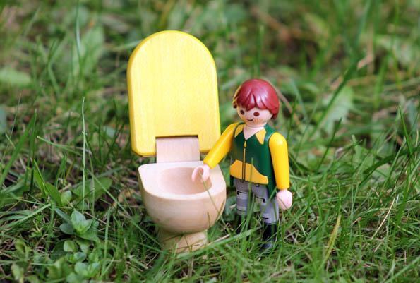 Wenn der Druck am größten ist, findet sich oft keine Toilette - doch das Internet bietet Abhilfe. (Foto: Karsten-Thilo Raab)
