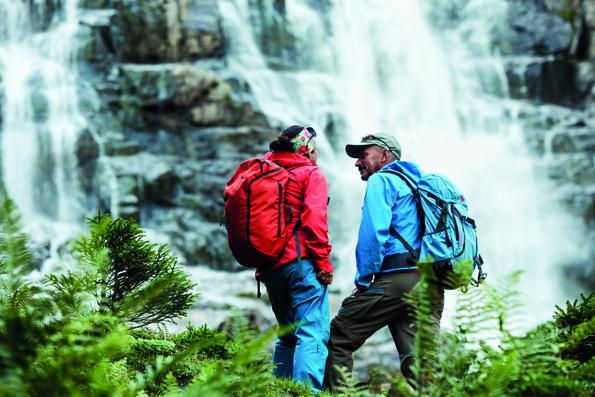 Auf der gut markierten Tour der WildeWasserWege werden Wanderer an eindrucksvolle Plätze inmitten wilder Schönheit geleitet.