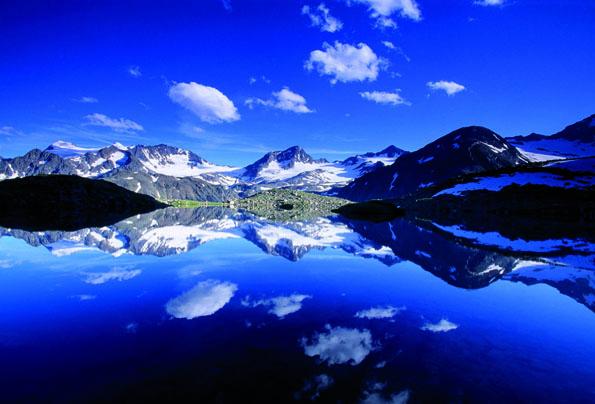 Perfekter Ausblick auf den Mutterberger See im Stubaital.