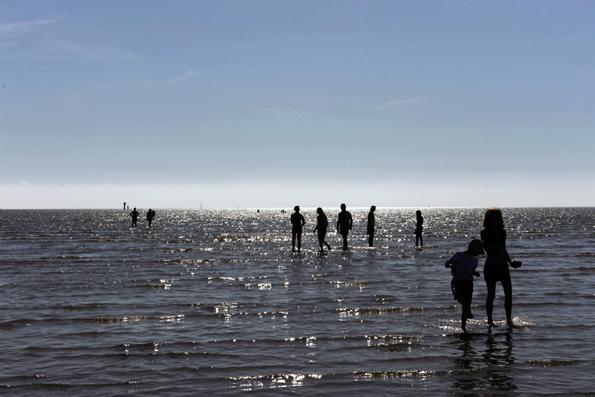 Meeresfeeling inklusive: Das Wangerland verfügt über eine 27 Kilometer lange, landschaftlich einmalige Küstenlinie mit der Nordsee und dem Wattenmeer. Vom Wangerland aus kann man aber auch ganz bequem auf die Nordseeinseln Wangerooge und Helgoland übersetzen.