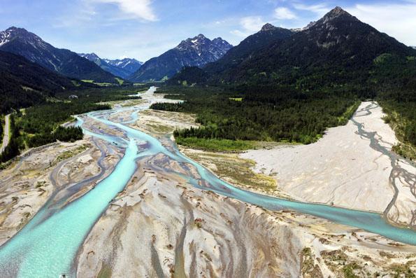 Der Tiroler Lech ist einer der letzten Wildflüsse Europas. (Foto: Robert Eder)
