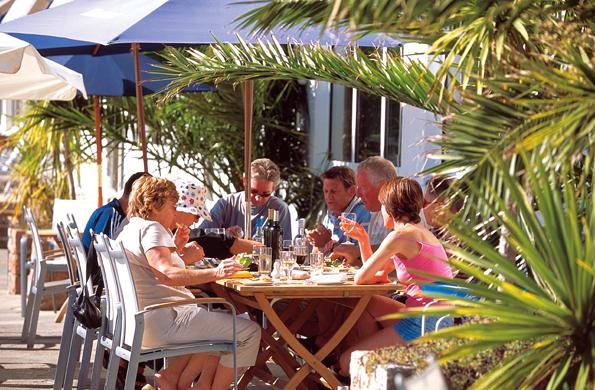 Genuss unter Palmen ist auf Jersey nicht nur während des Food Festivals garantiert.