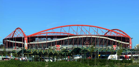 """Das Estádio do Sport Lisboa e Benfica wird auch als """"Stadion des Lichts"""" bezeichnet."""